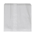 GLASSINE BAG 1W 1 WIDE SQUARE 165MM X 185MM WHITE 500PK
