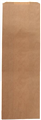 B PAPER BAG SINGLE BOTTLE BAG 370MM X 120MM X 45MM BROWN 500PK