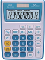 CALCULATOR 12 DIGIT 1122 120MM X 86MM X 30MM DUAL ASSORTED COLOURS