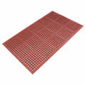 MATTEK SAFETY CUSHION GREASE PROOF MAT 900 X 1500MM TERRACOTTA