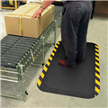DURA STEP MAT 850 X 1500MM YELLOW BORDER