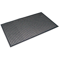 MATTEK CUSHION EASE MAT 550 X 850MM BLACK
