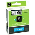 DYMO 45803 D1 LABEL TAPE 19MM X 7MM BLACK ON WHITE