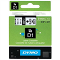 DYMO 40913 D1 LABEL TAPE 9MM X 7M BLACK ON WHITE
