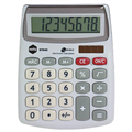 MARBIG CALCULATOR COMPACT DESKTOP 8 DIGIT SILVER EACH1 PACK12