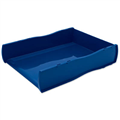ESSELTE 46802 NOUVEAU DOCUMENT TRAY DIRECTORS BLUE