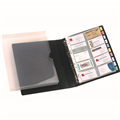 MARBIG BUSINESS CARD BOOK WITH CASE 500 CAPACITY