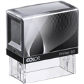 COLOP P50 PRINTER SELF INKING CUSTOM MADE TO ORDER STAMP 69MM X 30MM