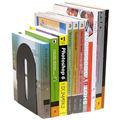 MARBIG BOOKENDS ROUNDED BLACK